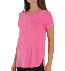 Anne Klein Rose Short Sleeve Top 8310421