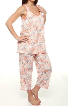 Crazy for Crinkle Sleeveless Cropped PJ