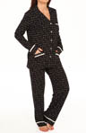 Anne Klein Wintery Nights L/S Long PJ 8710367