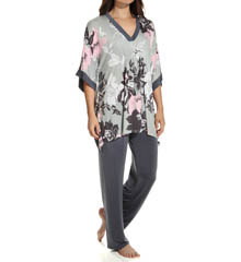 Anne Klein Novelty Caftan PJ Set 8710413