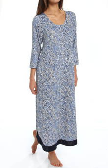 Anne Klein Animal Long Gown 8810396