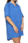Anne Klein Plus Size Poetic License 3/4 Sleeve Sleepshirt 9010292