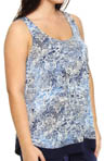 Anne Klein Plus Size Playing It Cool Tank 9510291