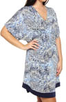 Anne Klein Plus Size Playing It Cool Short Caftan 9910291