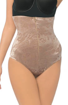 Power Curves Jacquard Hi-Waist Control Thong