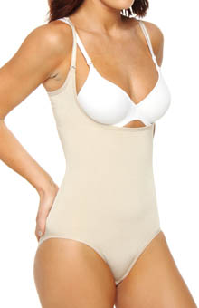 Secret Weapons Torsette Bodyshaper with Hi-Cut Leg