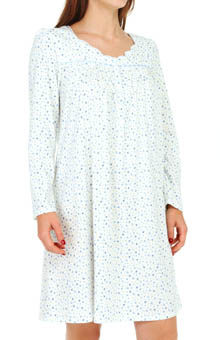 Aria Ivory Ditsy Short Nightgown 8014821