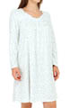 Ivory Ditsy Short Nightgown Image