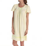Aria Yellow Floral Cap Sleeve Short Nightgown 8014858