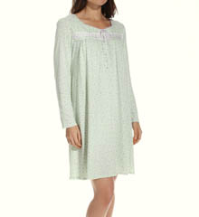 Aria Dreams Long Sleeve Short Nightgown 8014917