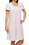 Strawberry Fields Short Sleeve Short Nightgown