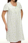 Aria Sweet Lemonade Short Sleeve Short Nightgown 801980