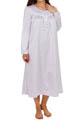 Brushed Back Satin Long Sleeve Ballet Nightgown Image