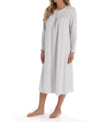Aria Lullabies Long Sleeve Long Nightgown 8214918