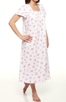Strawberry Fields Short Sleeve Ballet Nightgown