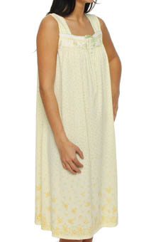 Aria Sweet Lemonade Sleeveless Waltz Nightgown