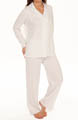 Ivory Ditsy Long Sleeve Long PJ Set Image