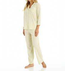 Aria Printed Soft Jersey 3/4 Sleeve PJ Set 8914874