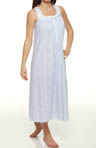 Countryside Blues Sleeveless Ballet Nightgown