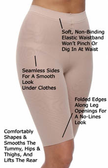 Assets by Sara Blakely Mid-Thigh Shaper Super Control