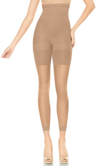 High Waisted Footless Tights