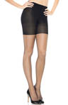 Assets Red Hot by Spanx Textured Scallop Backseam Shaping Pantyhose 2015