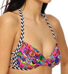 B.Swim Party Parrot Cosmic Cross Swim Top U49PP