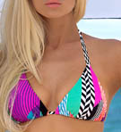 B.Swim Skycastle Beach Cruiser Push Up Swim Top U60SK
