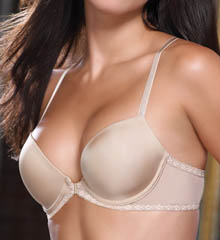Faithfully Yours X-Back Contour Front Close Bra