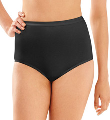 Full-Cut-Fit Cotton Brief Panties