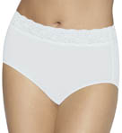 No Lines No Slip Brief Lace Panty