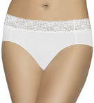 Bali No Lines No Slip Hipster Lace Panty 24A6