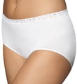 Bali Comfort Revolution Seamless Lace Brief Panty 2649