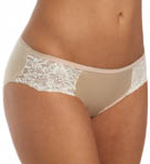 One Smooth U Comfort Satin Lace Bikini Panty Image