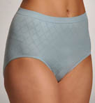 Bali Microfiber Pattern Brief Panty 730J