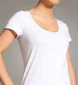 Bali Toning Scoop Neck Tee 8012
