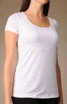 Bali Flawless Toning Tee's Microfiber Tee 8028