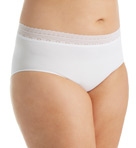 Microfiber Solid Brief Panty