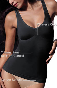 Comfortshape Seamless V-Neck Firm Control Top