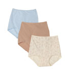 Cool Cotton Skimp Skamp Brief Panty 3 Pack