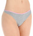 Cotton Stretch Tailored Thong Image