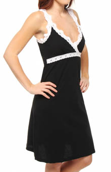 Ariel Nursing Chemise with Lace Trim