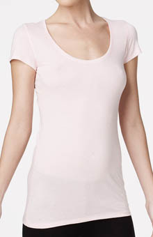 Bella Luxx Short Sleeve Scoop Neck Tee BL1000