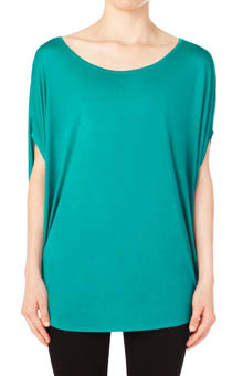 Bella Luxx Circle Drape Top