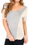 Bella Luxx Paneled Tee BL1108