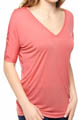Bella Luxx V Neck Slouchy Top BL1110