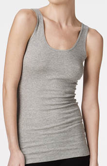 Bella Luxx Seamed Back Rib Tank