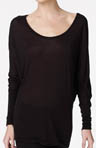 Long Sleeve Cuffed Dolman Top
