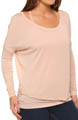 Bella Luxx Long Sleeve Circle Top BL3086