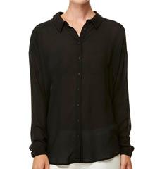 Bella Luxx Oversized Button Up Shirt BL3168